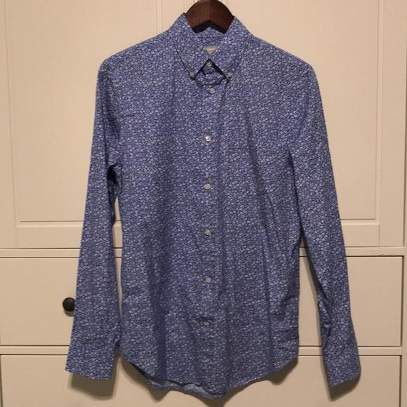 89d7506d2b54f4 jcpenney Shirts | Vintage Jcp Floral Print Small Dress Shirt | Poshmark